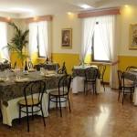 Sala ristorante Hotel Il Corallo